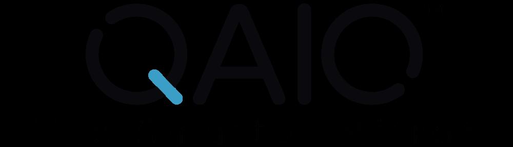 Qaio Black Logo