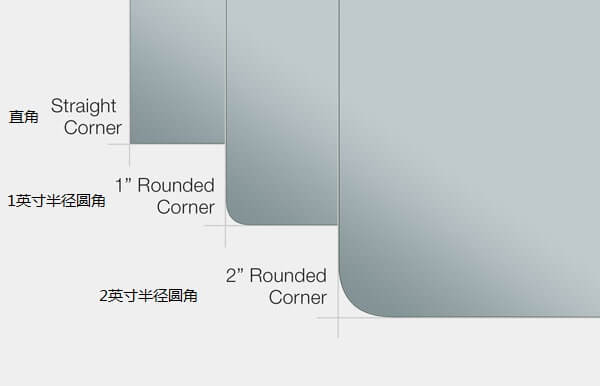 QAIO Smart Mirror Cuts and Edges Options for Customization in Chinese Language