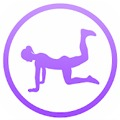 Daily Butt Workout - Booty & Leg Fitness Exercises App logo