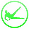 Daily Leg Workout - Lower Body Fitness Exercises app logo