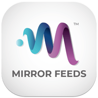 QAIO App Mirror Feeds Official Logo