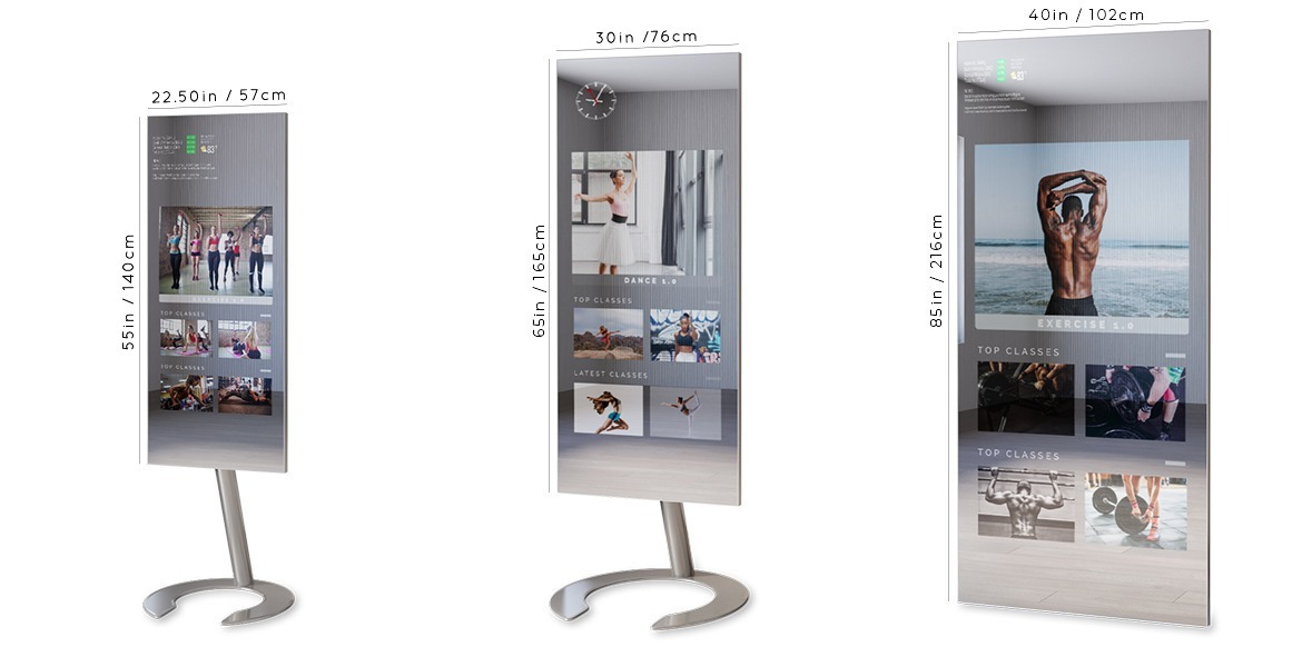 Sizes Fitness Mirror for Home Fitness