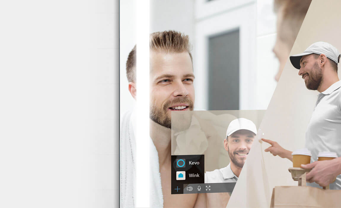 Connect Ring to Smart mirror