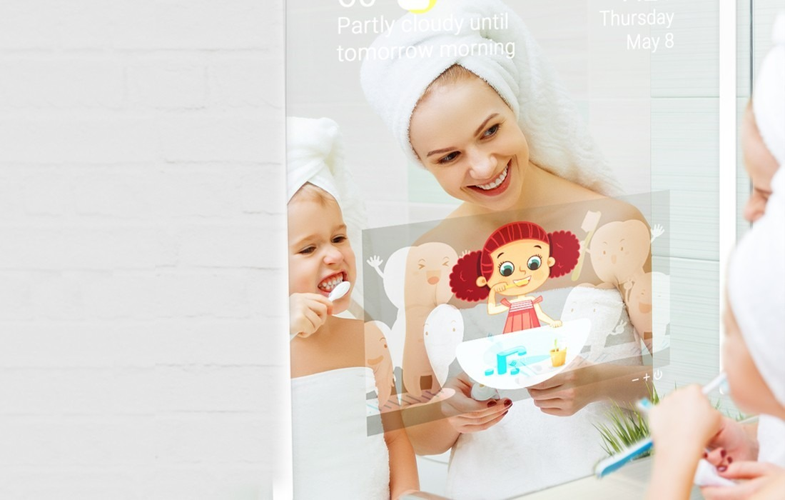 Connect Child Smart Toothbrush to Mirror