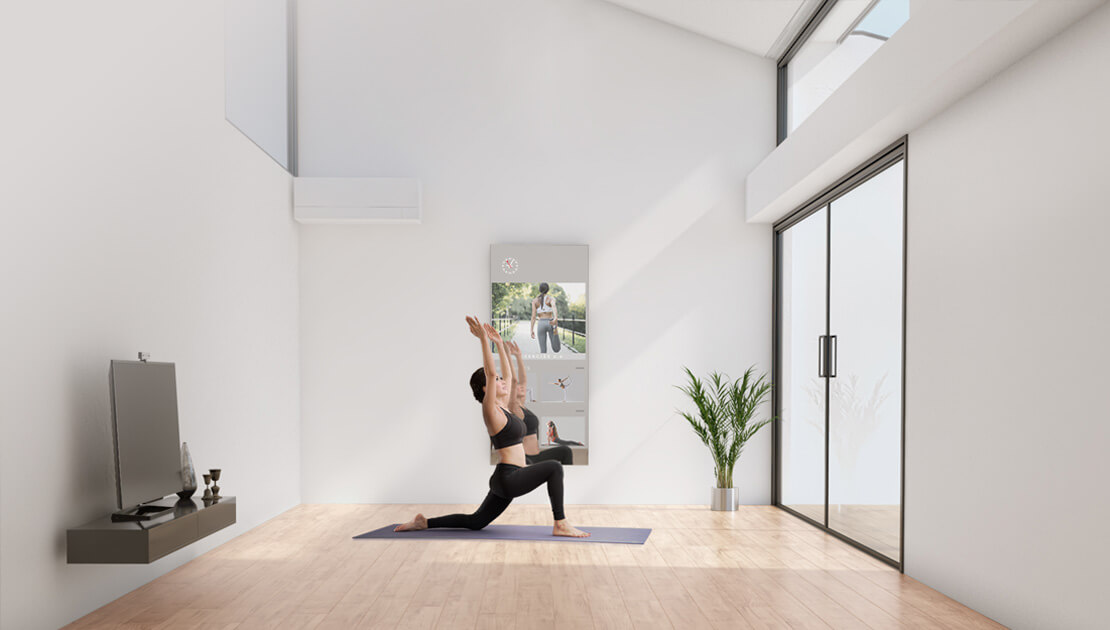Home Fitness Yoga and Fitness Mirror